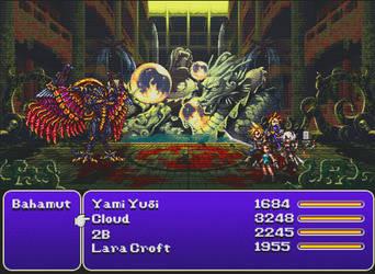 Final Fantasy Automata GX: Underworld Animated Tag by Ash-turbate