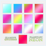 Glamourgirlizeme Gradients- Planetary Neon
