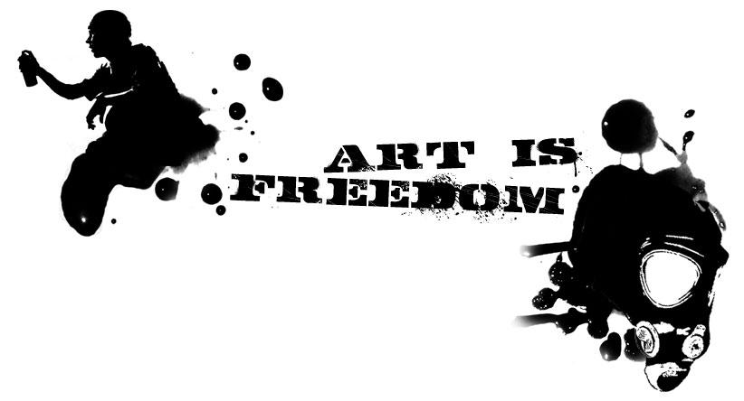 Art Is Freedom by Nabucodorozor