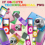 17 Objects Png
