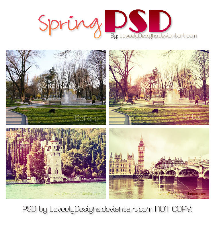 Spring PSD