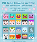 20 Free Kawaii Avatar