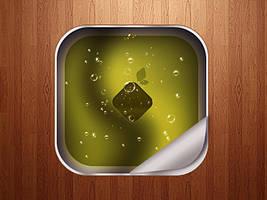 Appleteiser Icon PSD. by dev-john