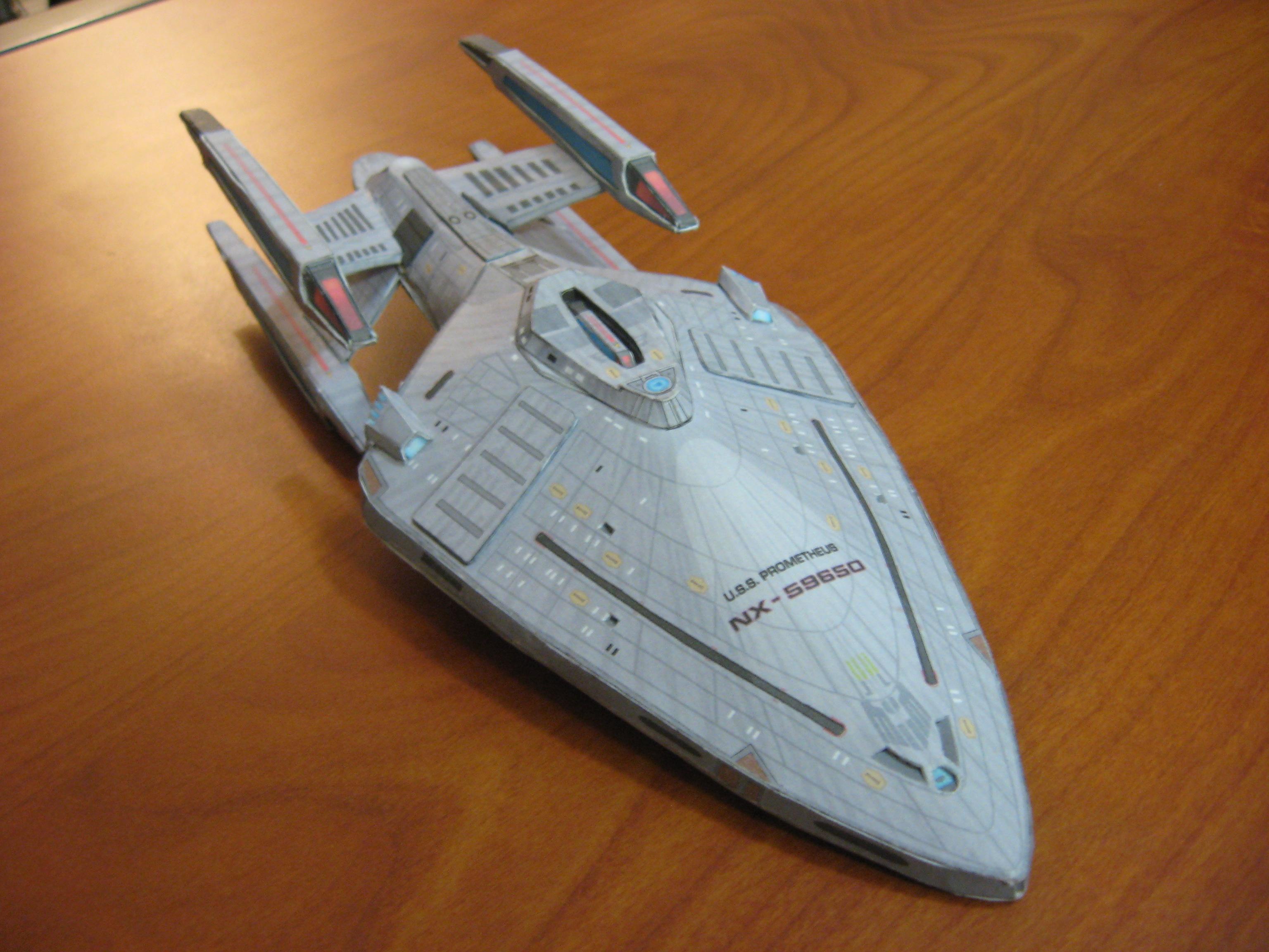 USS Prometheus Final by strangename19