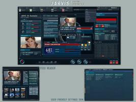 J.A.R.V.I.S Os 2.0 Rainmeter by TheClickart