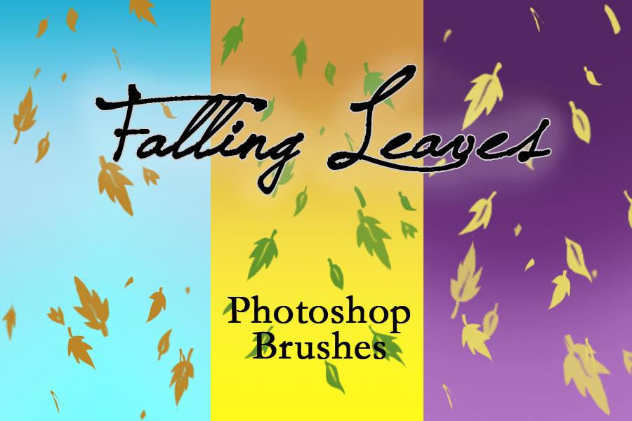Falling Leaves Burshes by arsenicyanide