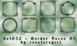 Set032 - Border Decos 001