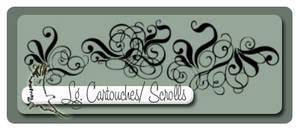 Lg Cartouches, Scrolls