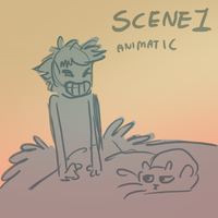 Just a story- Animatic Scene 1 by griffsnuff