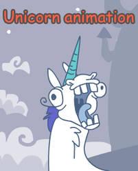 Epic unicorn animation by griffsnuff