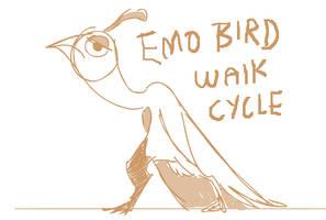 Emo walkcycle