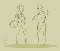 All the single ladies! Sketch animation