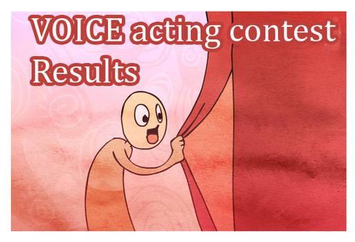 Voice contest winners