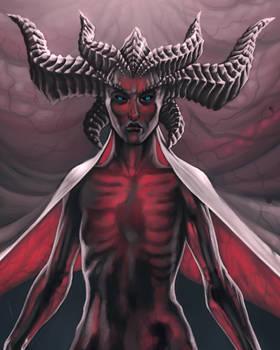 Lilith FanArt Process