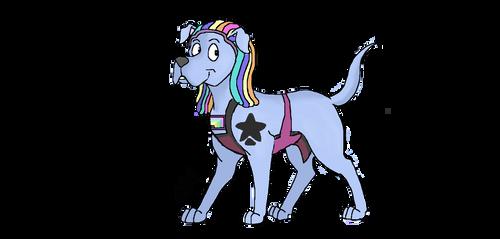 Bismuth - Steven universe dog