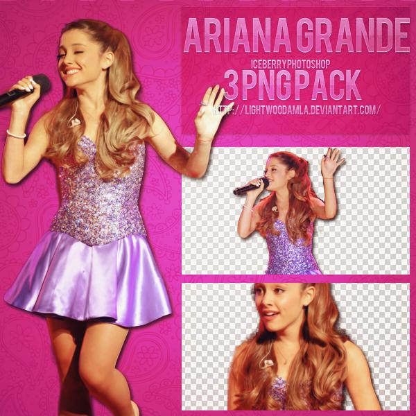 Ariana Grande Png Pack by lightwoodamla on DeviantArt
