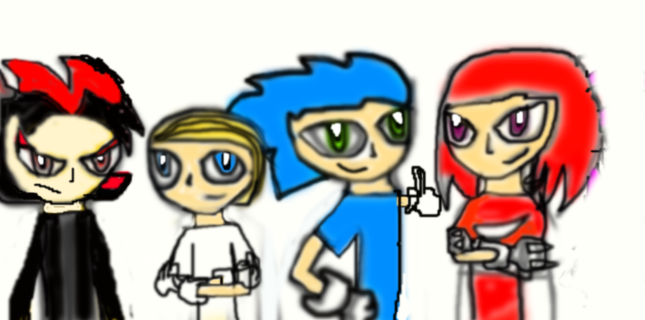 Sonic The Hedgehog Characters As Humans By Diaboliccade On Deviantart
