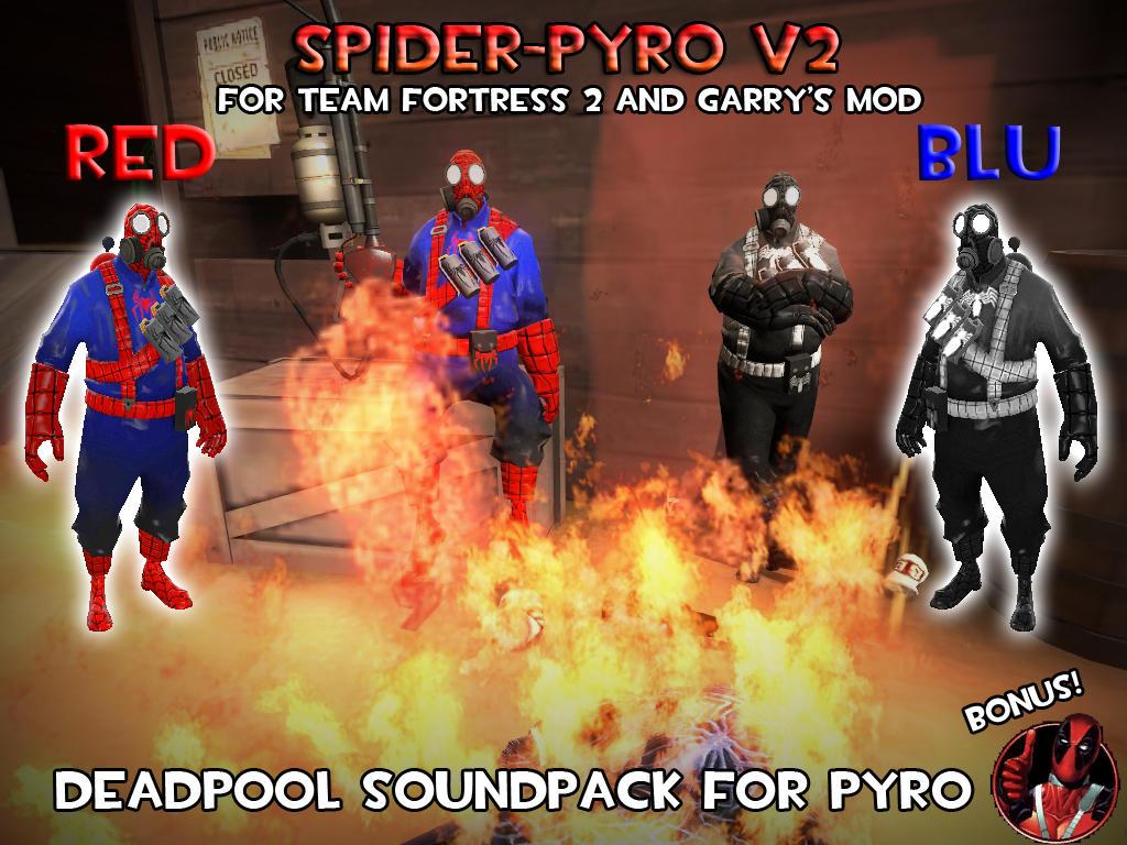 SpiderPyro V2 by ErichGrooms3