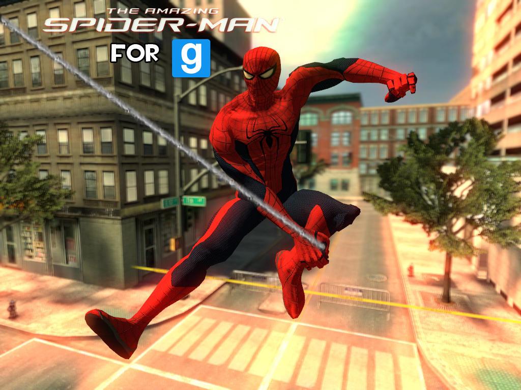 Скачать скин для garry s mod человек паук
