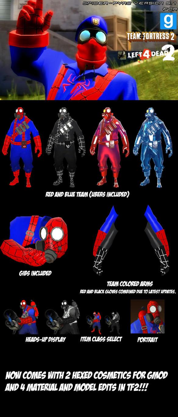 SpiderPyro skin V5.2 by ErichGrooms3