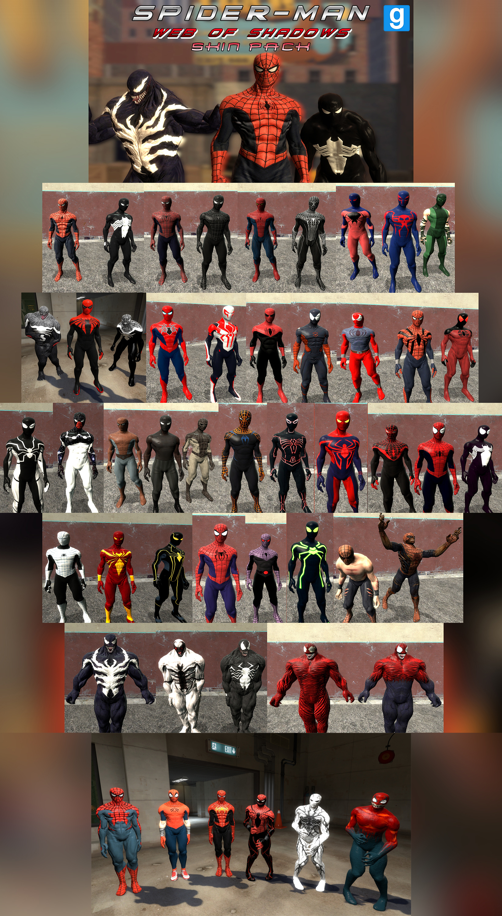 spider man unlimited black suit