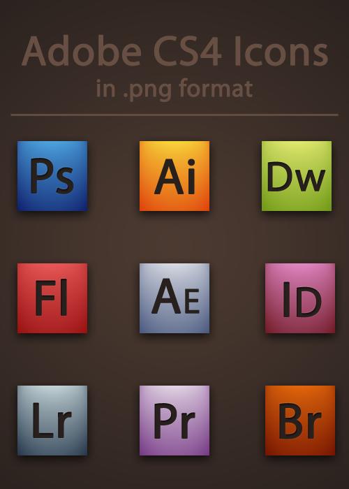 Adobe CS4 Icons by BrienOCD