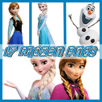 Frozen png pack