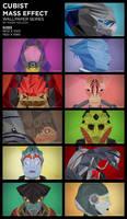 Cubist Mass Effect Wallpaper Series