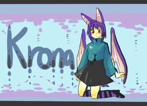 Krona the bat fairy