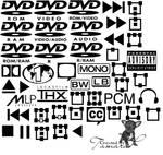 Dvd Symbols PS Brushes