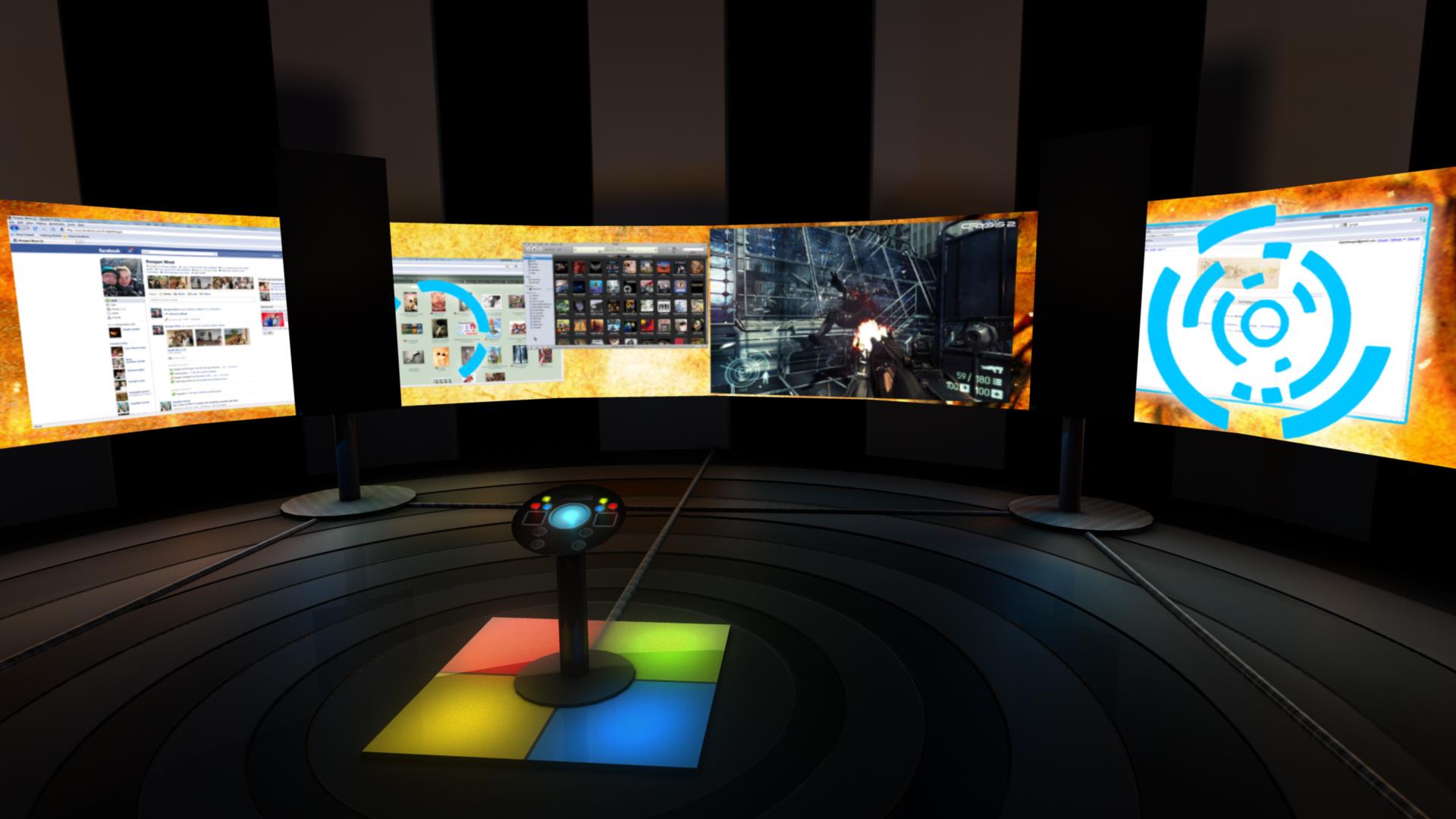 Super Gaming Computer Room