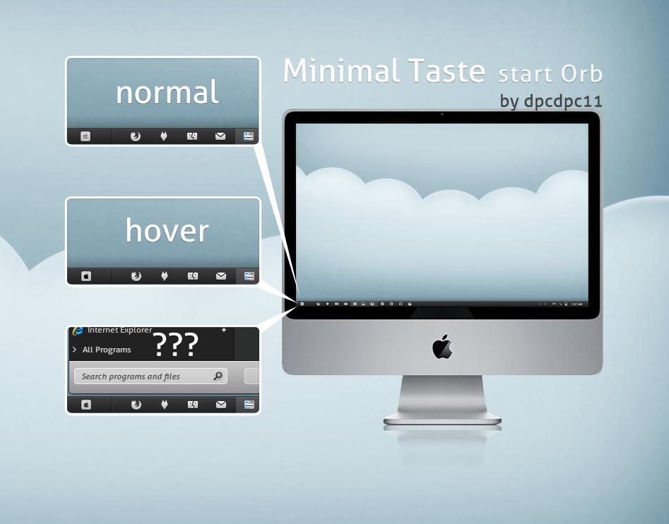 Minimal Taste start Orb by dpcdpc11