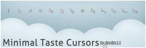 Minimal Taste Cursors