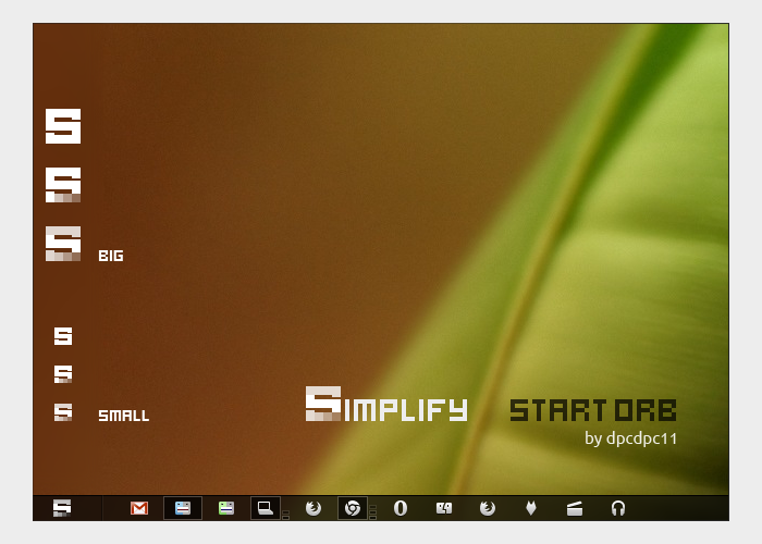 Simplify start Orb by dpcdpc11