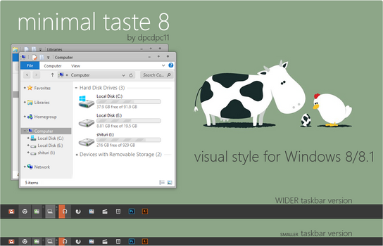 Minimal Taste 8 for Win 8/8.1