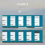 Simplify 8 Theme Pack for Windows 8.1