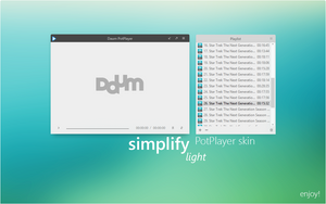 Simplify Light for PotPlayer by dpcdpc11