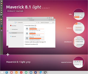 Maverick 8.1 light for Windows 8.1