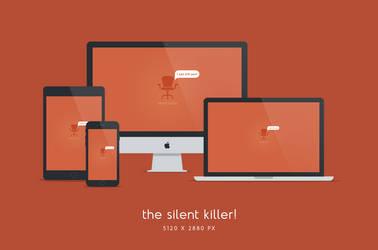 Silent Killer Wallpaper 5120x2880px