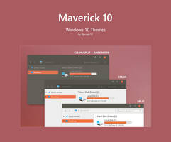 Maverick 10 - Windows 10 Theme