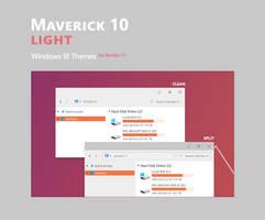 Maverick 10 Light - Windows 10 Themes (2 in 1)