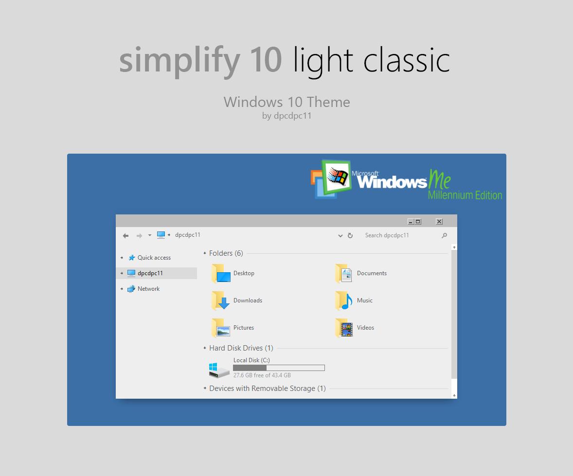 windows 10 classic theme