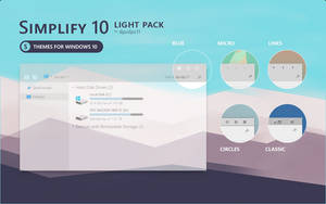 Simplify 10 Light - Windows 10 Theme Pack by dpcdpc11