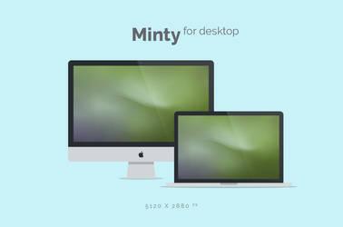Minty Wallpaper 5120x2880px by dpcdpc11