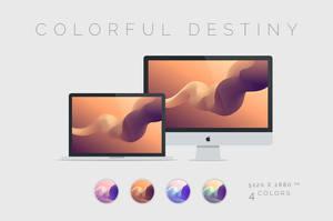 Colorful Destiny Wallpaper 5120x2880px by dpcdpc11