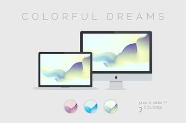 Colorful Dreams Wallpaper 5120x2880px by dpcdpc11