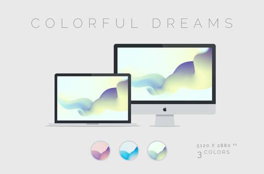 Colorful Dreams Wallpaper 5120x2880px