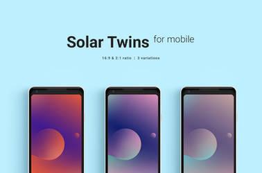 Solar Twins Mobile Wallpaper by dpcdpc11