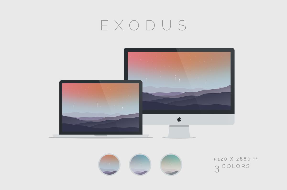 Exodus Wallpaper 5120x2880px