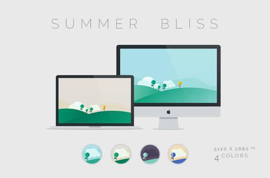 Summer Bliss Wallpaper 5120x2880px